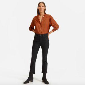 Everlane Kick Crop Jeans in Black